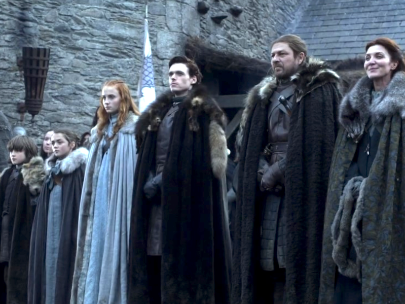 How Does Your Family Add Up Against House Stark From Game Of