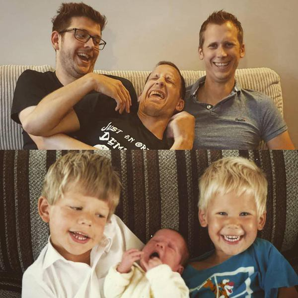 Hysterical Recreated Family Photos