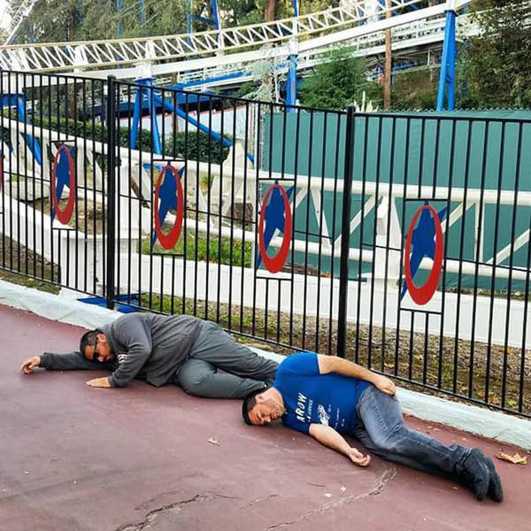 Families Behaving Badly at Theme Parks