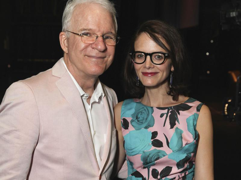 Steve Martin, left, is 27 years older than his wife, Anne Stringfield.