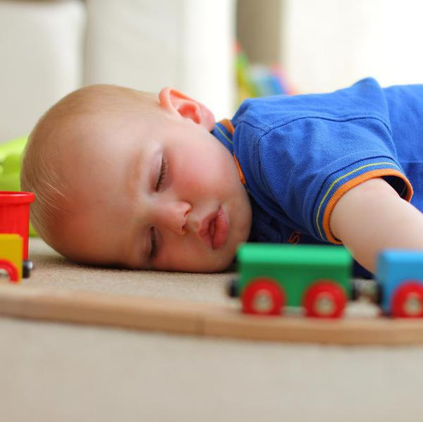 Hilarious Proof That Kids Can Sleep Anywhere