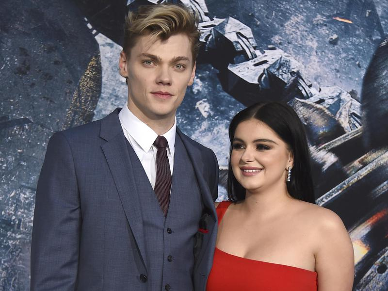 Levi Meaden, left, recently asked Ariel Winter to move in with him.