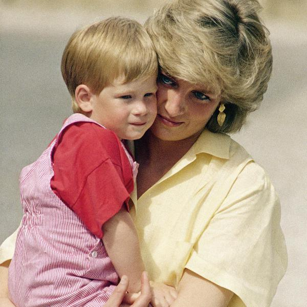 Princess Diana and Prince Harry Through the Years