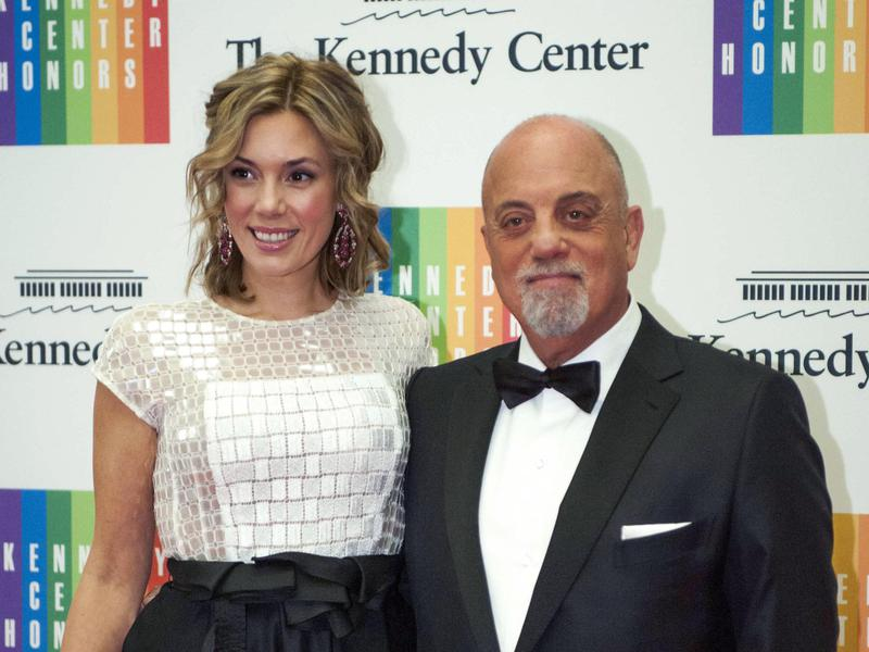 Alexis Roderick, left, and Billy Joel have a 33-year age difference between them.
