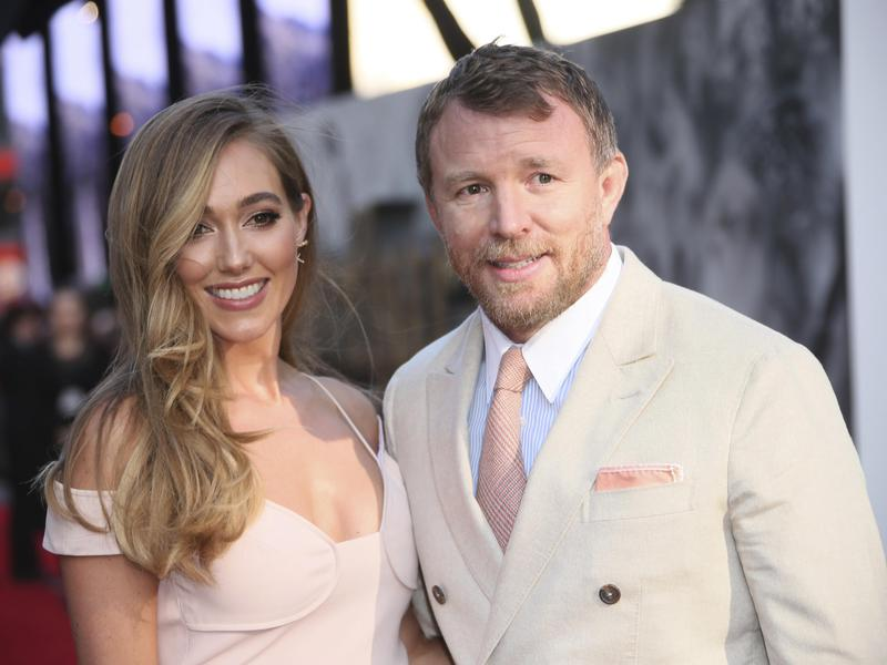 Jacqui Ainsley, left, and director Guy Ritchie got married in 2015.