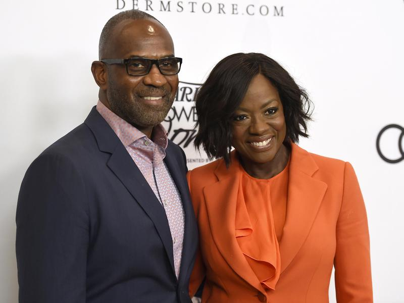 Julius Tennon, left, and Viola Davis have a 12-year age difference between them.
