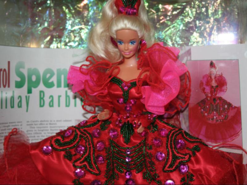 Barbie Dreamz RED DIAMOND GOLD RINGS Rhinestone Necklace /& Earrings Doll Jewelry