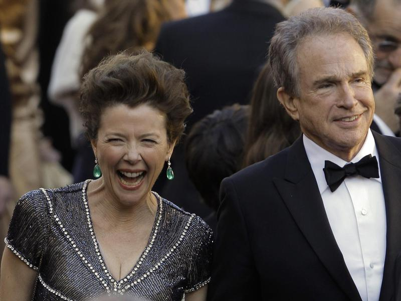Annette Bening, left, and Warren Beatty arrive before the 83rd Academy Awards on Feb. 27, 2011, in the Hollywood section of Los Angeles.