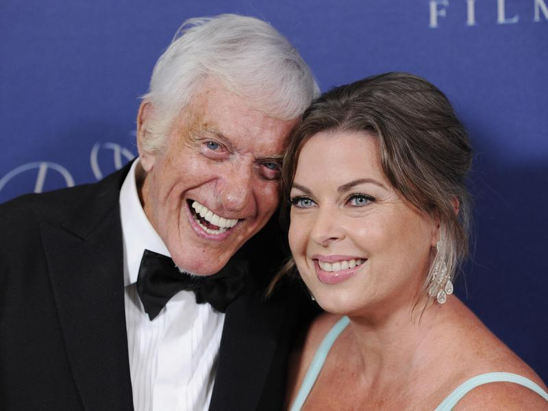 Prince Rainier III award recipient, Dick Van Dyke, poses with his wife Arlene Silver, right, at the 2014 Princess Grace Awards Gala at the Beverly Wilshire Hotel on Oct. 8, 2014, in Beverly Hills, Calif.