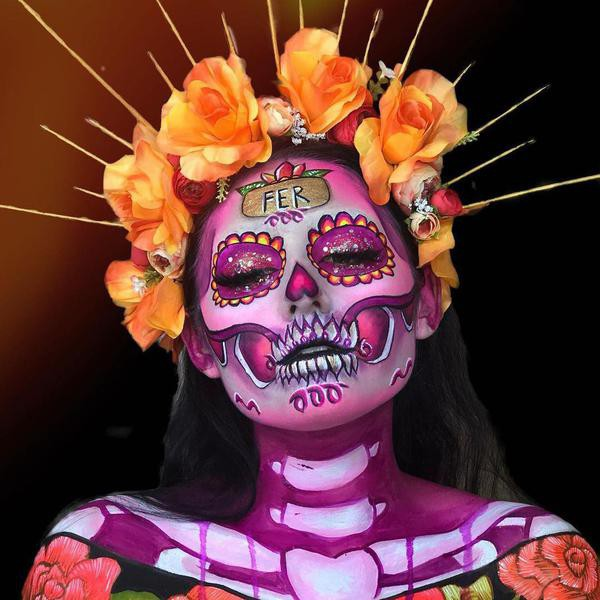 50 Stunning Day of the Dead Makeup Looks